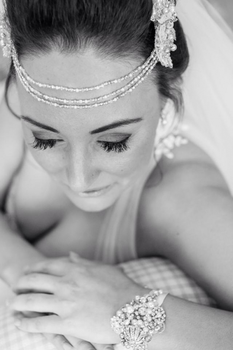 Vintage Chic Hair and Make up for Katherine at Morland Hall